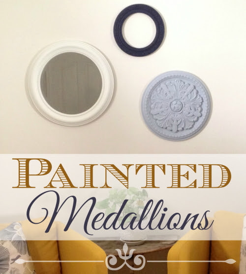 Painted Medallions