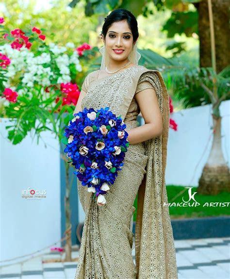 kerala christian wedding   Saree World   Pinterest