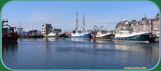 Local Boats at Peterhead Harbour