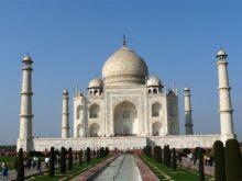 Indien 2009 Taj Mahal