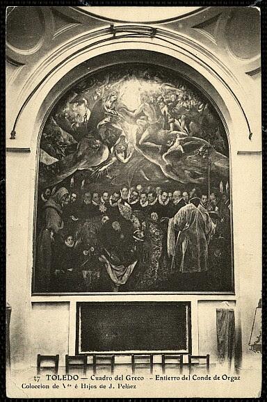 Entierro del Señor de Orgaz, Viuda e Hijos de Peláez, 1910