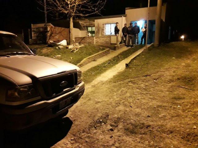 La policía de Tala llegó hasta Diamante. Foto PER.