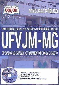 Apostila UFVJM OPERADOR DE ESTAÇÃO DE TRATAMENTO DE ÁGUA E ESGOTO.