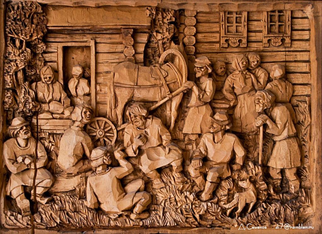 As incríveis pinturas esculpidas de Kronid Gogolev 08