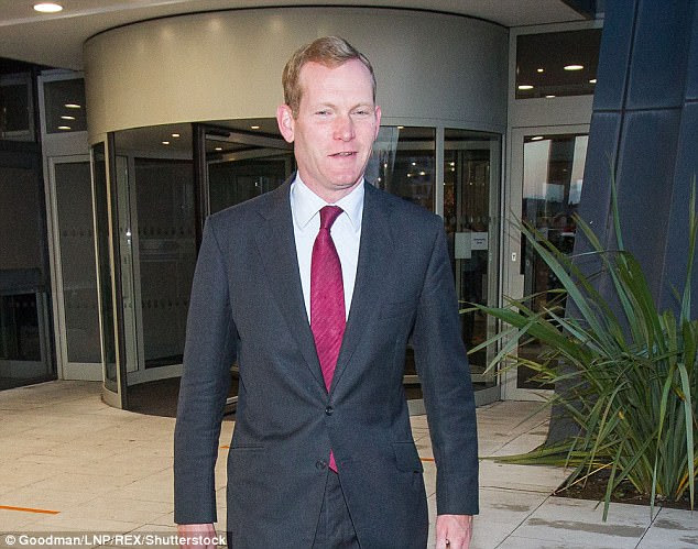 The City of London's Brexit envoy Jeremy Browne (pictured) has warned UK Treasury Ministers that Macron's France has effectively declared open war on London's Square Mile