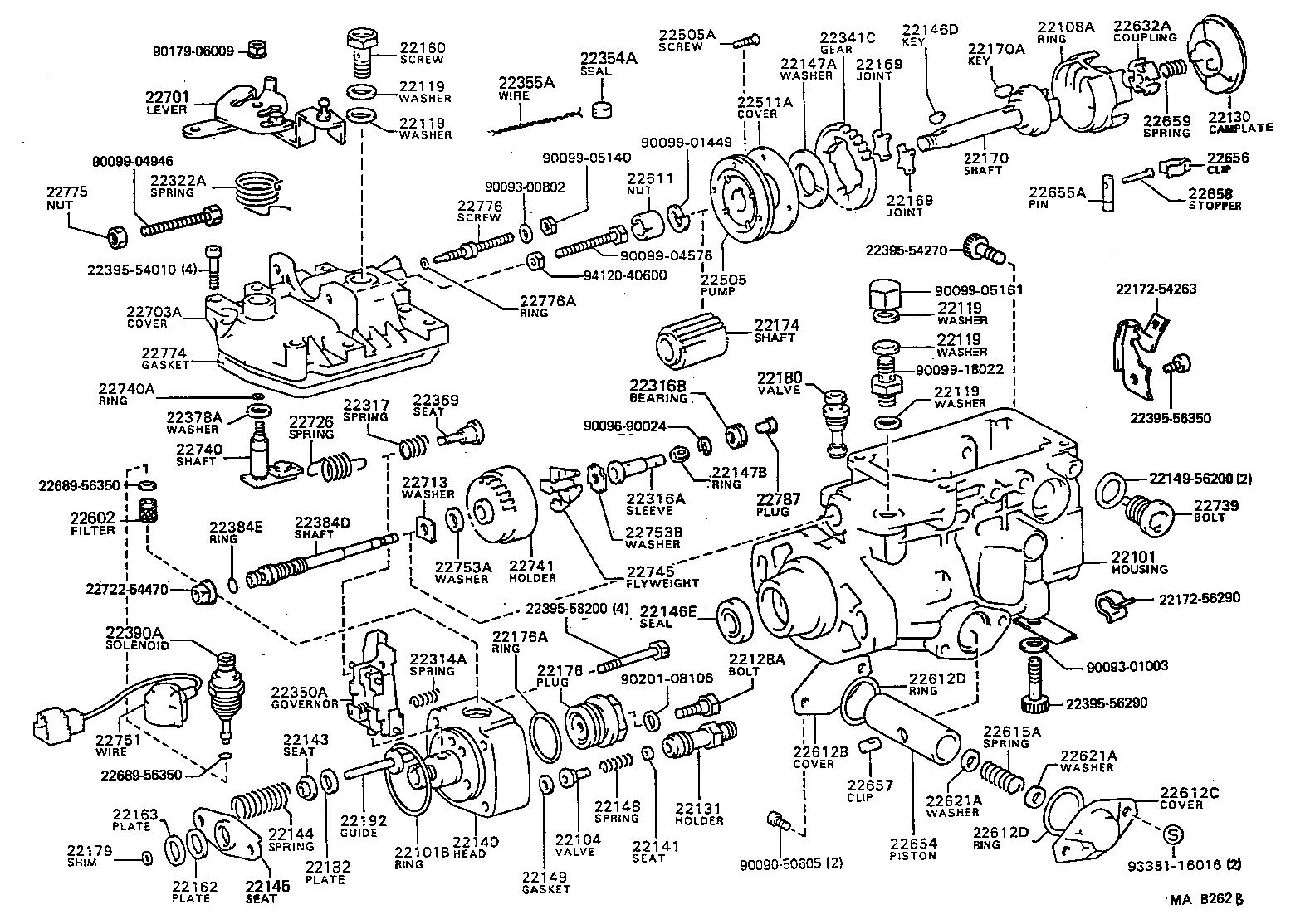 TOYOTA LAND CRUISER 70BJ73R-KR - TOOL-ENGINE-FUEL ...