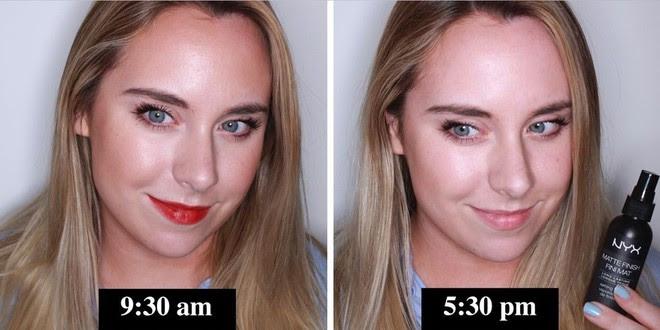 Muốn có lớp trang điểm bền đẹp cả ngày, cô nàng này đã thử 10 loại xịt cố định lớp makeup phổ biến và đây là kết quả - Ảnh 1.