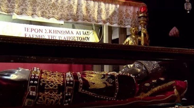 Στην Αθήνα για πρώτη φορά το σκήνωμα της Αγίας Ελένης