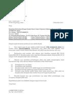 Surat Rayuan Cukai Pintu - Web Contoh p