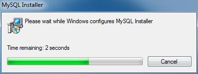 Install MySQL Step 1