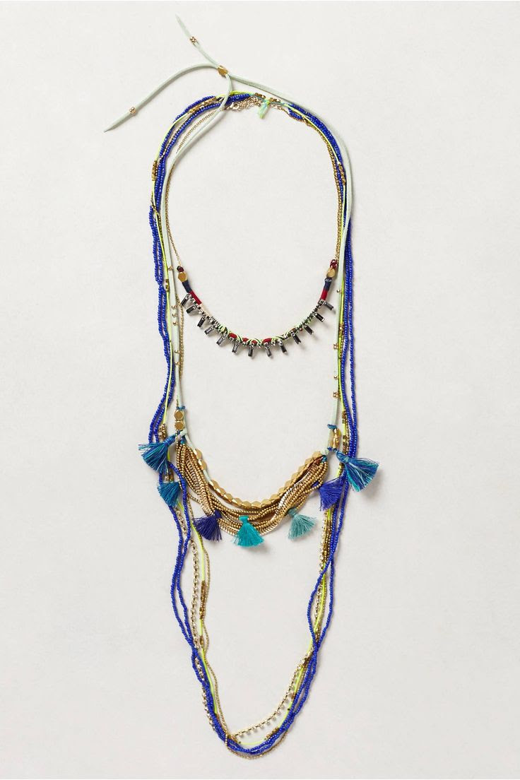 Tassel Swing Necklace Trio - anthropologie.com