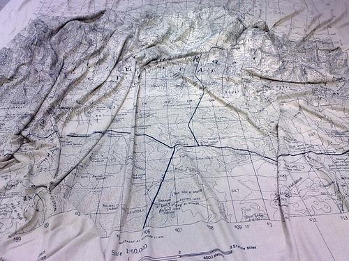 La mappa 'stesa' by durishti
