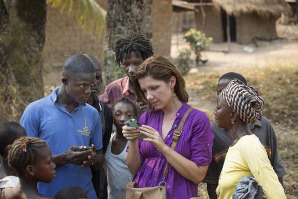 Medic mobile visits village
