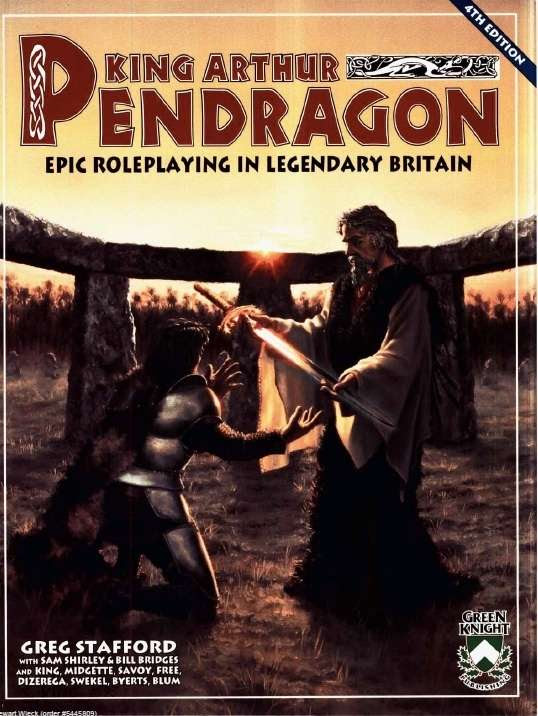Image result for pendragon 4th edition