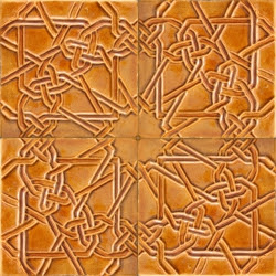 ASK 5722 Moorish enameled cuenca tiles