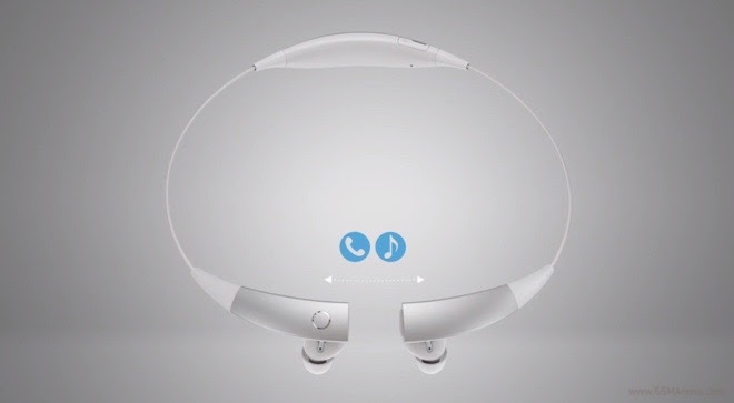 Samsung Gear Circle in a promotion video