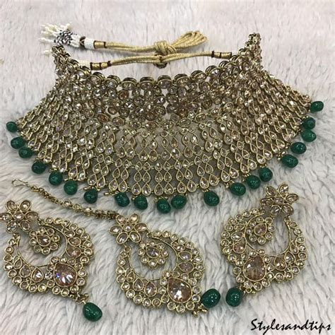 Online Bridal Artificial Jewelry Designs 2018 In Pakistan
