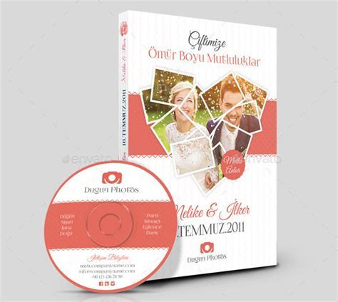 17  Wedding DVD Cover Templates   Free Premium PSD, Files