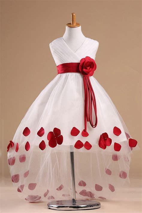 Girls Kids Youth Wedding ceremony flower girl Party Dress