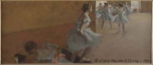 Danseuses montant un escalier, Edgar Degas, 1886- 1890