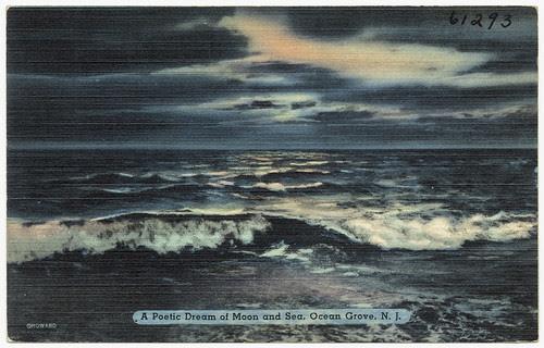 A poetic dream of moon and sea, Ocean Grove, N. J.