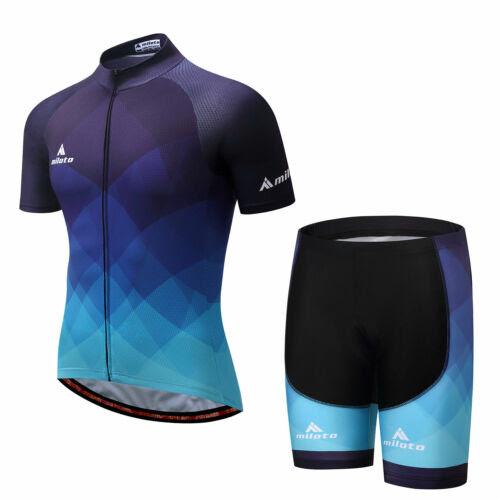 Tragerhose Radtrikot Cycling Set Blau Herren Radsport Trikot And Shorts Hose Trikot Hose Sets Sport Wbcboxing Com