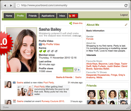 Trash web download costruisci il tuo sito di social for Costruisci il tuo simulatore di casa