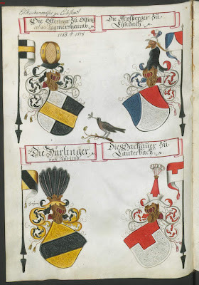 Armorial bearings from wappenbuch