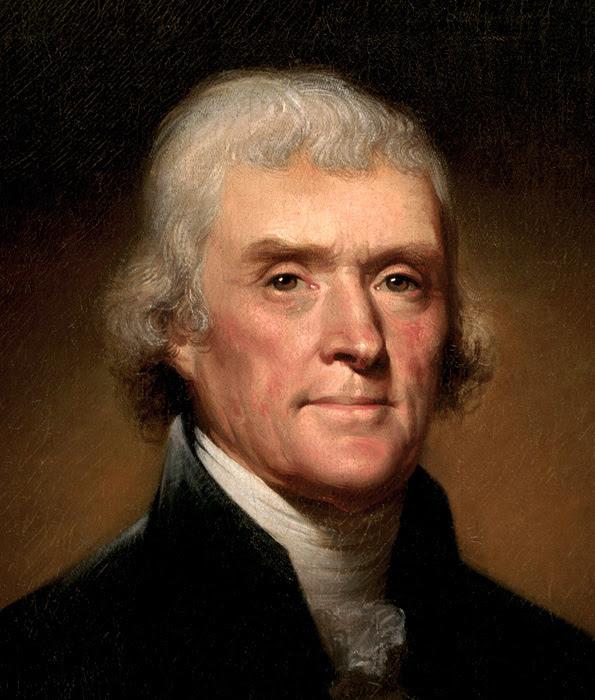Image result for Thomas Jefferson's National Prayer