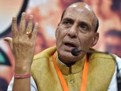 Ready For Talks If Insurgents Give Up Violence In Northeast, Says Rajnath Singh
