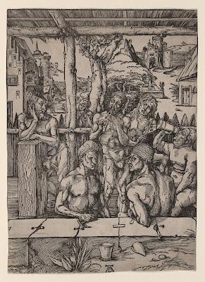 Albrecht Dürer - 'Das Mannerbad' (The Men's Bath)