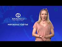 PERFORMANS YÖNETİMİ - Ünite 2 Konu Anlatımı 1 - Açıköğretim Sistemi - Anadolu Üniversitesi