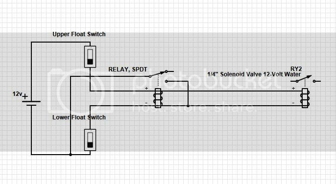 Float Valve Wiring Diagram