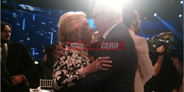 El abrazo de la noche: Mirtha Legrand y Juan Leyrado