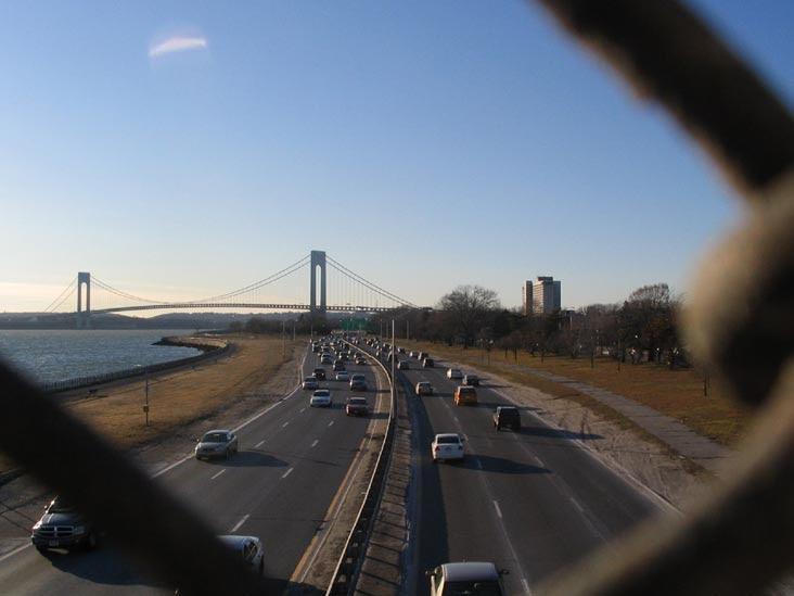 Verrazano-Narrows Bridge, Belt Parkway, Bensonhurst, Brooklyn