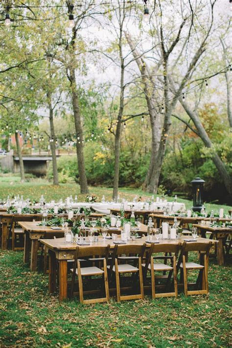 Rustic Outdoor Autumn Wedding in Wisconsin   W E D   Fall