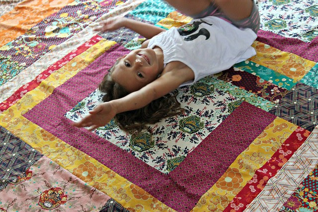 Haila & my Indie Quilt Top