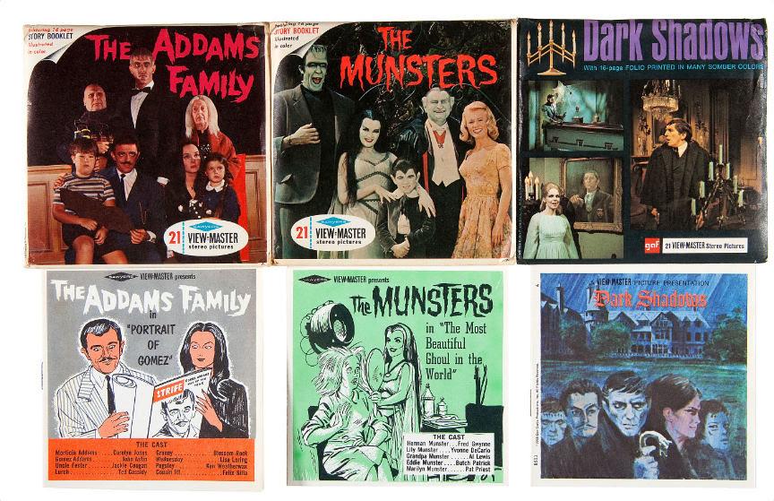 Addams Family Viewmaster reels