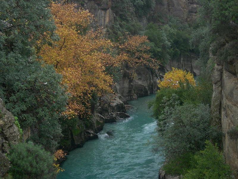 الطبيعة في تركيا