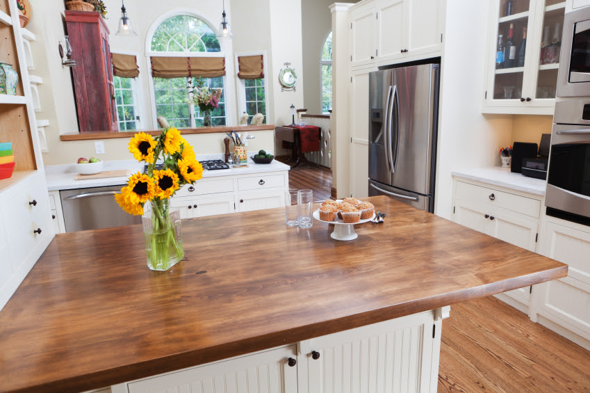 How to Care For Your Butcher Block Countertops » Cabinets by Graber