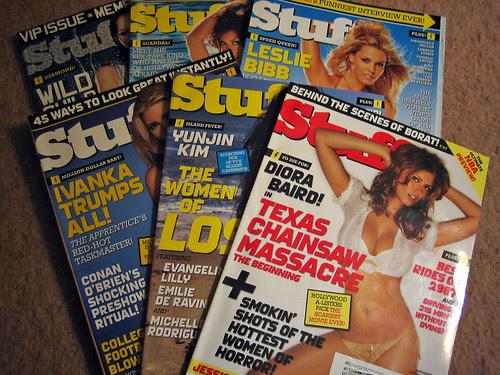 My Mom Subscribes to Stuff Magazine