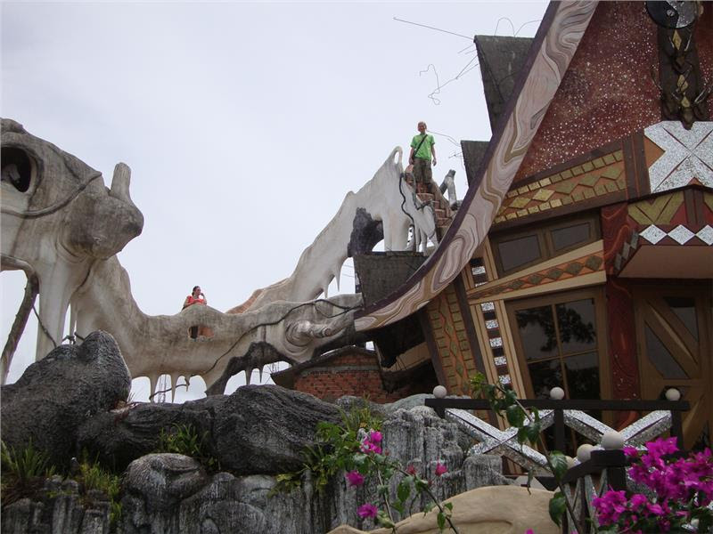 Exterior of Crazy House Dalat