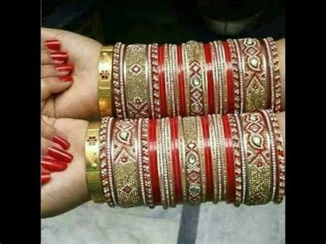 50  LATEST CHURA DESIGNS FOR BRIDAL IN EVERY COLOR AND