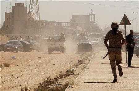 Clashes continue in eastern Libya between the rebel army and rebel militias. The militias who are allied with the puppet General National Congress are also being attacked. by Pan-African News Wire File Photos