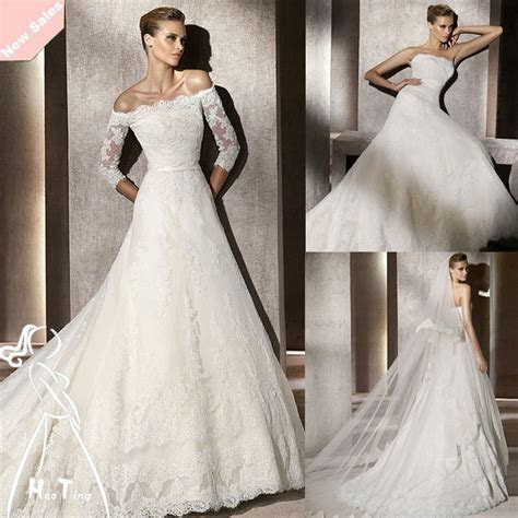 Long Sleeves Lace Bridal Dresses Ideas ? Designers Outfits