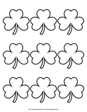 st patrick's day coloring pages  printable coloring ebook  primarygames