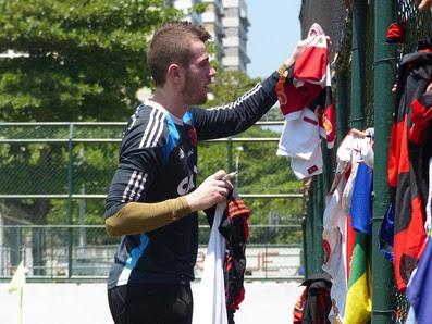 Paulo Victor, Treino do Flamengo (Foto: Carlos Mota / Globoesporte.com)