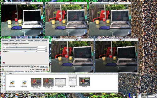 Tone Mapping GUI for Linux, Desktop