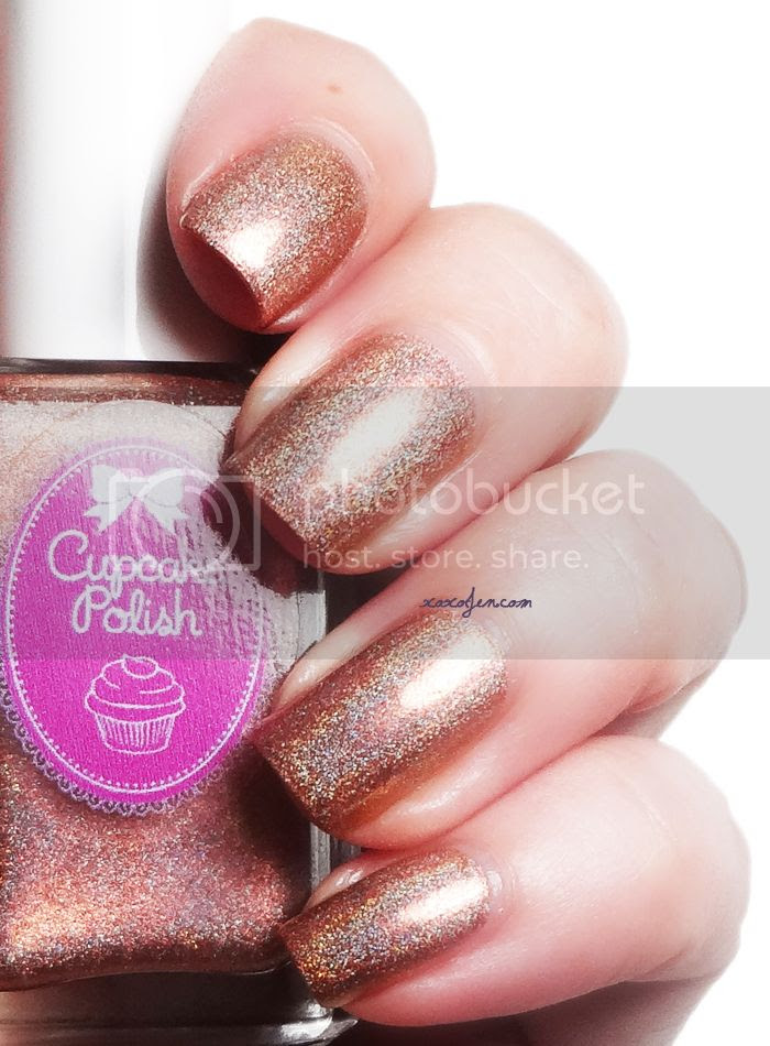 xoxoJen's swatch of Cupcake Polish Too Haute To Handle