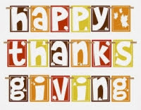 Happy Thanksgiving and Thank you!